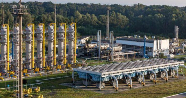 Украина начала закачивать газ в подземные хранилища