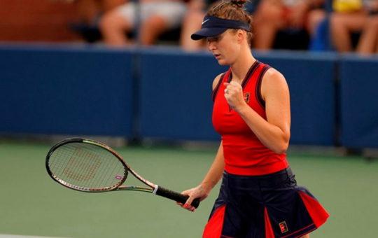 Свитолина одержала уверенную победу на старте US Open