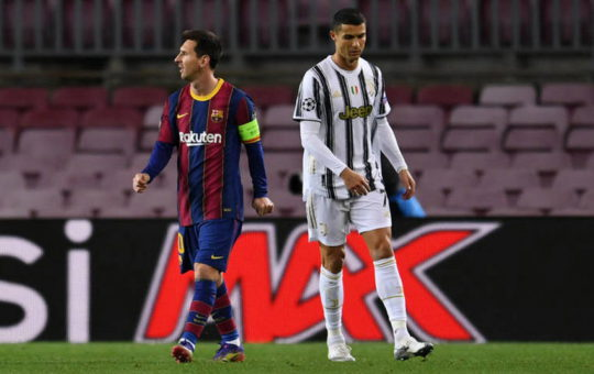 Роналду и Месси не вошли в тройку претендентов на приз лучшего игрока УЕФА