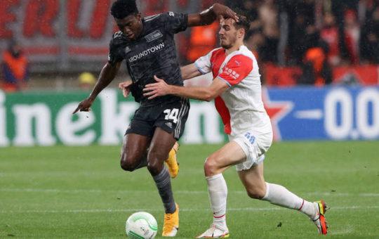 Качараба сломал кость черепа в матче Лиги конференций против Униона