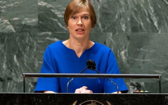Президент Эстонии: Безопасность Украины - наша безопасность