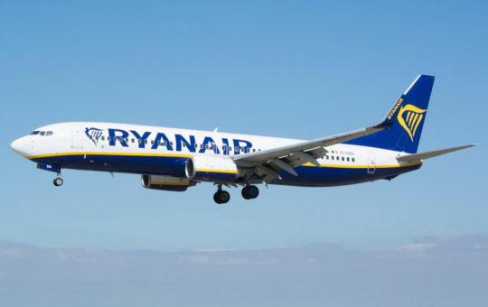 Лоукостер Ryanair запускает рейс Львов-Манчестер