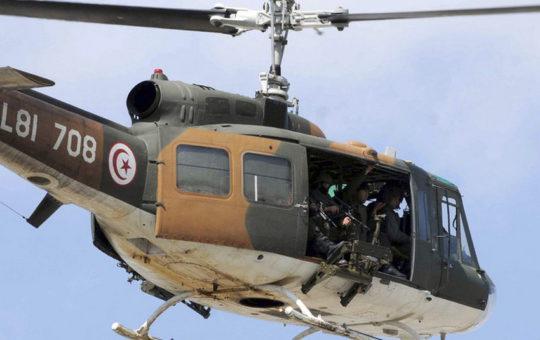 В Тунисе разбился военный вертолет, трое погибших