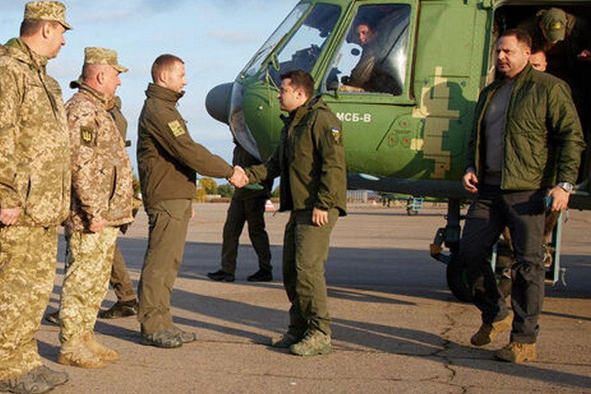 Зеленский прибыл на Донбасс с рабочим визитом