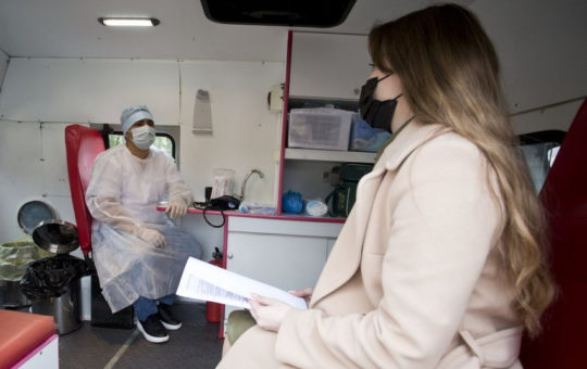 COVID-вакцинацию прошли еще 66 тысяч украинцев
